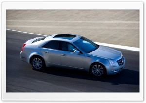 2008 Cadillac CTS 19 HD Wide Wallpaper for Widescreen