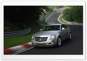 2008 Cadillac CTS 20 HD Wide Wallpaper for Widescreen