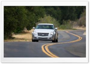 2008 Cadillac CTS 21 HD Wide Wallpaper for Widescreen