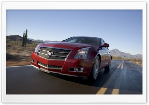 2008 Cadillac CTS 3 HD Wide Wallpaper for Widescreen