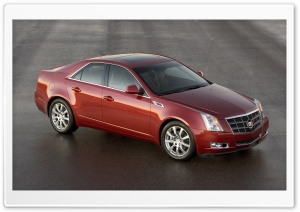 2008 Cadillac CTS 5 HD Wide Wallpaper for Widescreen