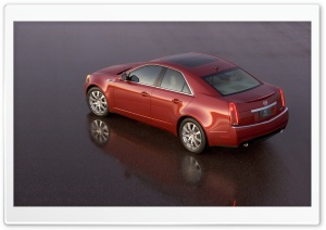 2008 Cadillac CTS 6 HD Wide Wallpaper for Widescreen