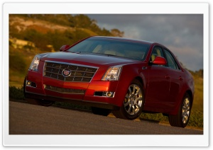 2008 Cadillac CTS 7 HD Wide Wallpaper for Widescreen