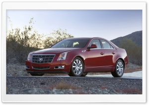 2008 Cadillac CTS 8 HD Wide Wallpaper for Widescreen