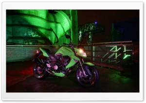 2008 Kawasaki Z1000 HD Wide Wallpaper for Widescreen