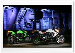 2008 Kawasaki Z1000 Motorcycles HD Wide Wallpaper for Widescreen
