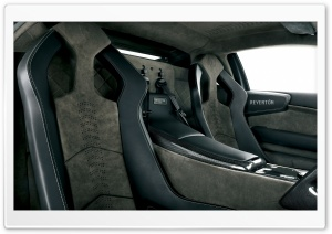 2008 Lamborghini Reventon Interior HD Wide Wallpaper for Widescreen