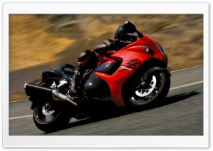 2008 Suzuki Hayabusa HD Wide Wallpaper for Widescreen