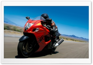 2008 Suzuki Hayabusa Speed HD Wide Wallpaper for 4K UHD Widescreen desktop & smartphone