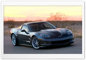 2009 Chevrolet Corvette ZR1 HD Wide Wallpaper for Widescreen