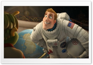 2009 Planet 51 HD Wide Wallpaper for Widescreen