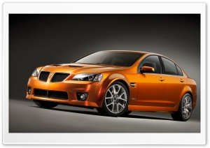 2009 Pontiac G8 HD Wide Wallpaper for Widescreen