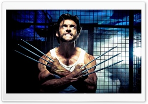 2009 X Men Origins Wolverine HD Wide Wallpaper for Widescreen