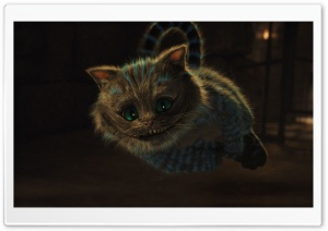 2010 Alice In Wonderland, Cheshire Cat HD Wide Wallpaper for Widescreen