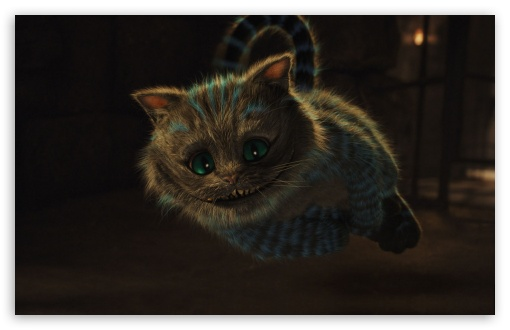 2010 Alice In Wonderland, Cheshire Cat HD wallpaper for Standard 4:3 5 ...