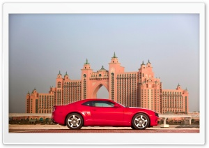 2010 Chevrolet Camaro In Middle East   Side View HD Wide Wallpaper for Widescreen