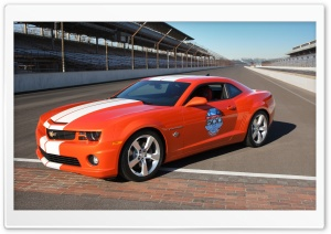 2010 Chevrolet Camaro Indianapolis 500 Pace Car HD Wide Wallpaper for Widescreen