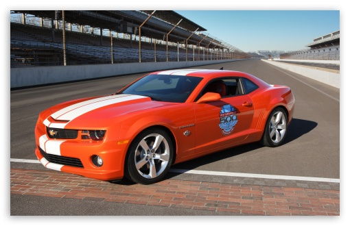 2010 Chevrolet Camaro Indianapolis 500 Pace Car HD wallpaper for Standard 4:3 Fullscreen UXGA XGA SVGA ; Wide 16:10 5:3 Widescreen WHXGA WQXGA WUXGA WXGA WGA ; HD 16:9 High Definition WQHD QWXGA 1080p 900p 720p QHD nHD ; Other 3:2 DVGA HVGA HQVGA devices ( Apple PowerBook G4 iPhone 4 3G 3GS iPod Touch ) ; Mobile VGA WVGA iPhone iPad PSP - VGA QVGA Smartphone ( PocketPC GPS iPod Zune BlackBerry HTC Samsung LG Nokia Eten Asus ) WVGA WQVGA Smartphone ( HTC Samsung Sony Ericsson LG Vertu MIO ) HVGA Smartphone ( Apple iPhone iPod BlackBerry HTC Samsung Nokia ) Sony PSP Zune HD Zen ; Dual 4:3 5:4 UXGA XGA SVGA QSXGA SXGA ;