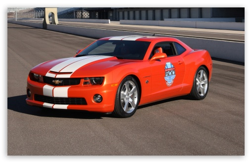 2010 Chevrolet Camaro Indianapolis 500 Pace Car   Front Angle View HD wallpaper for Wide 16:10 5:3 Widescreen WHXGA WQXGA WUXGA WXGA WGA ; HD 16:9 High Definition WQHD QWXGA 1080p 900p 720p QHD nHD ; Standard 4:3 3:2 Fullscreen UXGA XGA SVGA DVGA HVGA HQVGA devices ( Apple PowerBook G4 iPhone 4 3G 3GS iPod Touch ) ; iPad 1/2/Mini ; Mobile 4:3 5:3 3:2 16:9 - UXGA XGA SVGA WGA DVGA HVGA HQVGA devices ( Apple PowerBook G4 iPhone 4 3G 3GS iPod Touch ) WQHD QWXGA 1080p 900p 720p QHD nHD ;