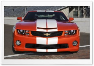 2010 Chevrolet Camaro Indianapolis 500 Pace Car   Front View HD Wide Wallpaper for Widescreen