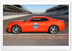 2010 Chevrolet Camaro Indianapolis 500 Pace Car   Side View HD Wide Wallpaper for Widescreen