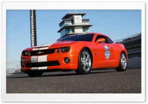 2010 Chevrolet Camaro Indianapolis 500 Pace Car   View HD Wide Wallpaper for Widescreen