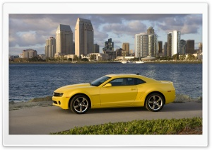 2010 Chevrolet Camaro LT With An RS Appearance Package HD Wide Wallpaper for Widescreen