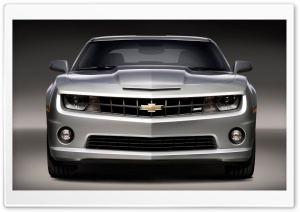 2010 Chevrolet Camaro SS   Front View HD Wide Wallpaper for Widescreen