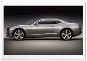2010 Chevrolet Camaro SS   Side View HD Wide Wallpaper for Widescreen