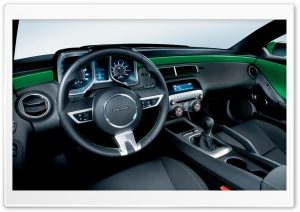 2010 Chevrolet Camaro Synergy Special Edition Interior HD Wide Wallpaper for 4K UHD Widescreen desktop & smartphone