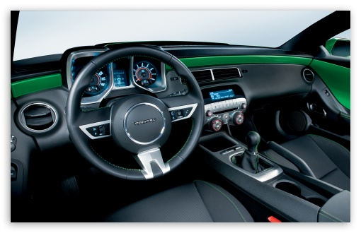 2010 Chevrolet Camaro Synergy Special Edition Interior HD wallpaper ...