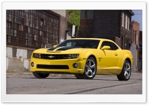 2010 Chevrolet Camaro Transformers Special Edition HD Wide Wallpaper for Widescreen