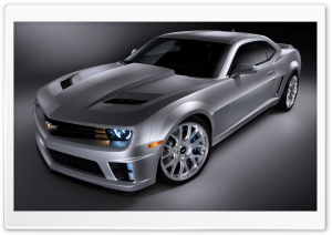 2010 Chevrolet Leno Camaro HD Wide Wallpaper for Widescreen