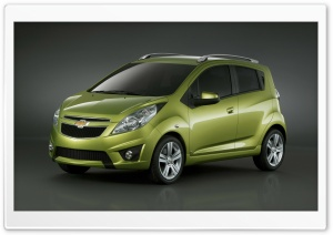 2010 Chevrolet Spark HD Wide Wallpaper for Widescreen