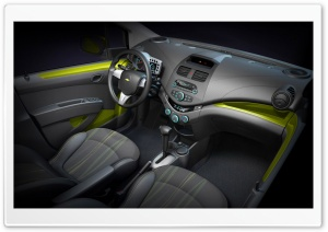 2010 Chevrolet Spark   Interior HD Wide Wallpaper for Widescreen