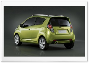 2010 Chevrolet Spark   Rear Angle HD Wide Wallpaper for Widescreen