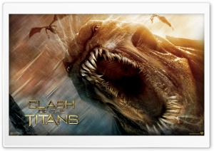 2010 Clash Of The Titans HD Wide Wallpaper for Widescreen