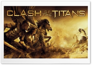 2010 Clash Of The Titans Movie HD Wide Wallpaper for 4K UHD Widescreen desktop & smartphone