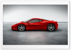 2010 Ferrari 458 Italia HD Wide Wallpaper for Widescreen