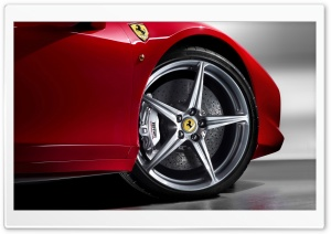 2010 Ferrari 458 Italia Wheel HD Wide Wallpaper for 4K UHD Widescreen desktop & smartphone