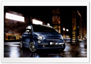 2010 Fiat 500 HD Wide Wallpaper for Widescreen