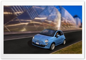 2010 Fiat 500C TwinAir HD Wide Wallpaper for Widescreen