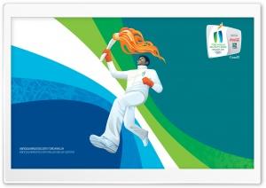 2010 Olympic Torch Relay HD Wide Wallpaper for Widescreen