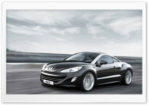 2010 Peugeot RCZ HD Wide Wallpaper for Widescreen