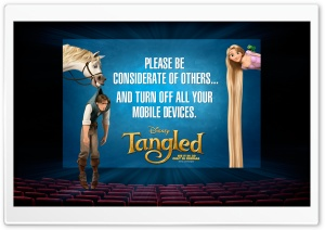 2010 Tangled 3D Movie HD Wide Wallpaper for Widescreen