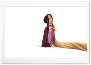 2010 Tangled Mother Gothel And Rapunzel HD Wide Wallpaper for 4K UHD Widescreen desktop & smartphone