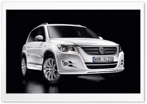 2010 Volkswagen Tiguan HD Wide Wallpaper for Widescreen