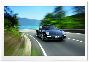 2011 Black Porsche 911 Black Edition HD Wide Wallpaper for Widescreen