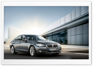 2011 BMW 5 Series F10 HD Wide Wallpaper for Widescreen