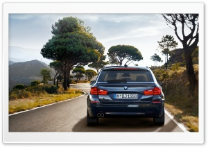 2011 BMW 5 Series Touring F11   Ride HD Wide Wallpaper for Widescreen